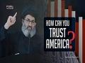 How Can You Trust America? | Sayyid Hashim al-Haidari | Arabic sub English