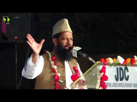 Janab Qazi Ahmed Noorani | Qoumi Milad-e-Mustafa saww Conference - 1439/2017 - Urdu
