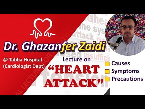 Save from Heart Attack   Dr Ghazanffar Zaidi - Urdu