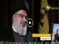 Interview with Sayyid Hasan Nasrallah about his son   Arabic sub English