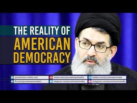 The Reality of American Democracy | Sayyid Hashim al-Haidari | Arabic Sub English
