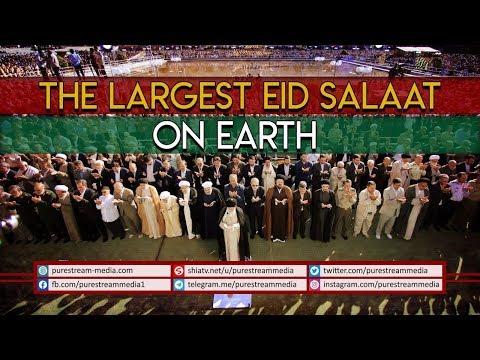 The Largest EID SALAAT on Earth