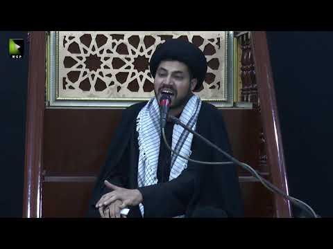 [03] Topic: Nusrat-e-Imam Hussain (as)   Moulana Haider Ali Jafri   Muharram 1441/2019 - Urdu