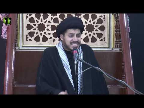 [07] Topic: Nusrat-e-Imam Hussain (as)   Moulana Haider Ali Jafri   Muharram 1441/2019 - Urdu