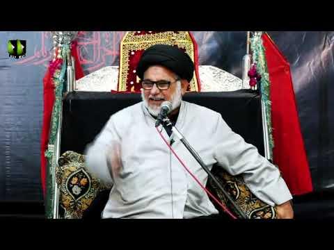 [08] Topic: Marjaeyat , Masomeen (as) ke Nigah May | H.I Hasan Zafar Naqvi | Muharram 1441/2019 - Urdu