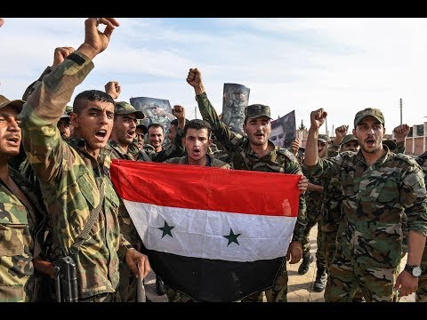[16/10/19] Syrian army troops take full control of Manbij - English