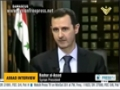 [English Translation] Interview Bashar Al-Asad - President Syria on current situation - 30 May 2013