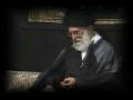 Wali-e-Amr Muslimeen reciting masaib of Hzt. Ali Akbar(as) - Farsi