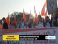 [17 Jan 2014] Anti regime demonstrators hold massive pro democracy rally in Bahrain - English