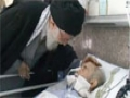 Ayatullah Khamenei visits Hospital and prayed for the health recovery of patients - Farsi