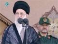 مراسم دانش اموختگی دانشجویان دانشگاہ امام حسین - Aytaullah Khamenei - Farsi