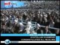 Leader Khamenei leading Eid prayer-Part 1 - English