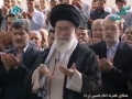 Ayatullah Khamenei Leads Eid Prayers 2014 - Arabic