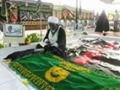 Sheikh Zakzaky visit to his Son\\\'s grave - Nigerian