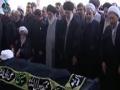 Leader Ayatollah Seyyed Ali Khamenei led prayers for late Ayatollah Abbas Vaez Tabasi - Mashad - All Languages